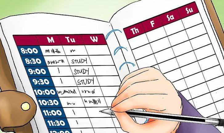 برنامه ریزی ایام امتحانات کنکور آسان است