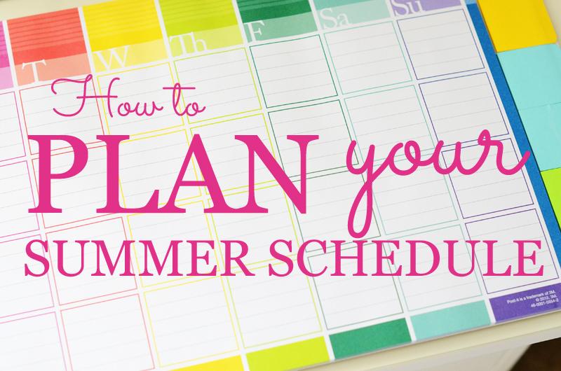 برنامه ریزی عالی برای تابستان