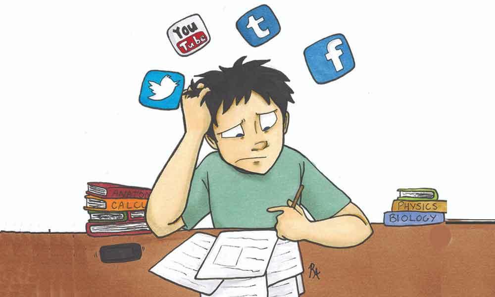 رفع مشکل حواس پرتی در حین مطالعه